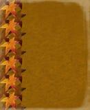 Grungy de herfstachtergrond Stock Fotografie