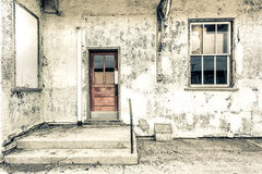 Grungy and decayed building Royalty Free Stock Photo