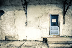 Grungy and decayed building Stock Images