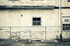 Grungy and decayed building Royalty Free Stock Photos
