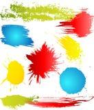 Grungy design elements Stock Image