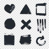 Grungy design elements. Stock Photos