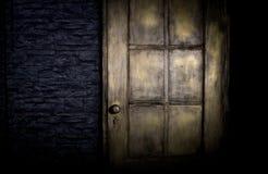 Grungy deur Stock Foto's