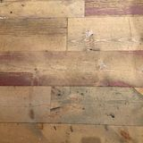 Grungy distressed wooden flooring texture with white paint Royalty Free Stock Images