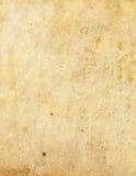 Grungy document textuur Stock Afbeeldingen