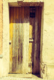 Grungy Door Stock Photography