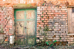 Grungy Door Royalty Free Stock Images