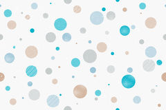 Grungy dots Stock Photography