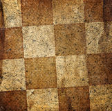 Grungy dotted chessboard background Royalty Free Stock Image