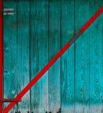 Grungy drewniana brama Fotografia Stock