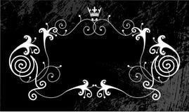 Grungy etiketachtergrond   royalty-vrije illustratie