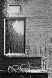 grungy fönster Arkivbilder
