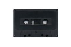 grungy för kassett som isoleras över bandwhite Fotografering för Bildbyråer
