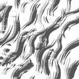 Grungy fala seamles wzór Zdjęcia Stock
