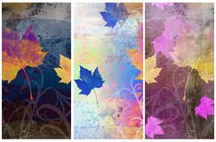 Grungy Fall Related Backgrounds Stock Photo