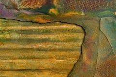 Grungy farbiges Feld Lizenzfreie Stockbilder