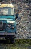 Grungy Farmyard ciężarówka zdjęcia royalty free
