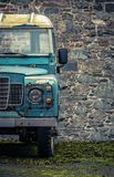 Grungy Farmyard Truck Royalty Free Stock Photos