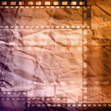 Grungy film. Negative background, copy space Stock Image