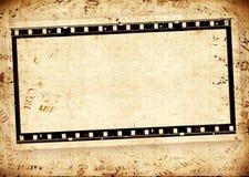 Grungy Film stock illustratie