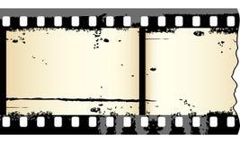 Grungy film strip Stock Image