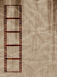 Grungy film strip Royalty Free Stock Photo