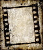 Grungy film strip or photo negative. Old grungy filmstrip or photo negative image Royalty Free Stock Photo