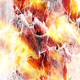 Grungy Fire Background Stock Images