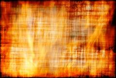 grungy flamma Arkivbilder