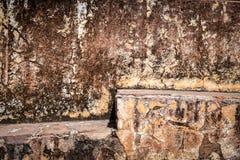 Grungy flerfärgade texturer för väggyttersidabakgrund Arkivbilder