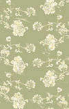 Grungy floral pattern Royalty Free Stock Images