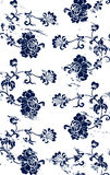 Grungy floral pattern Royalty Free Stock Photography
