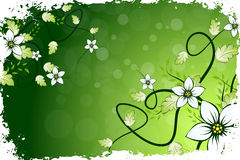 Grungy Flower Background Royalty Free Stock Photo