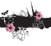 Grungy Flowers Stock Photos