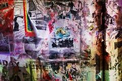 Grungy Flugblätter Lizenzfreie Stockbilder