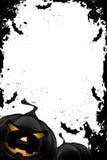 Grungy Frame van Halloween Stock Afbeeldingen