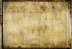 Grungy framed background Stock Photography