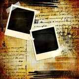 Grungy frames Stock Images