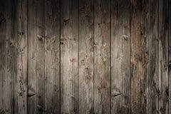 Grungy gammal träpanelvägg Royaltyfri Bild