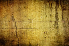 grungy gammal vägg Arkivfoton