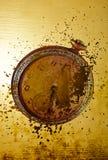 grungy gammalt för klockacollage Royaltyfri Fotografi
