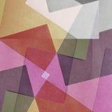 Grungy gebleekte abstracte kleurenachtergrond Stock Foto