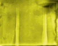 Grungy geel Stock Afbeeldingen