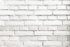Grungy gemalte Backsteinmauerbeschaffenheit als Hintergrund Gebrochener konkreter Weinlesebacksteinmauerhintergrund, alte gemalte Lizenzfreie Stockfotos