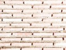 Grungy gemalte Backsteinmauerbeschaffenheit als Hintergrund Gebrochener konkreter Weinlesebacksteinmauerhintergrund, alte gemalte Stockbilder