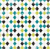 Grungy geometrische illustratie als achtergrond Royalty-vrije Stock Afbeeldingen