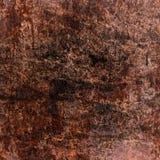 Grungy geroeste metaalplaat Stock Foto's