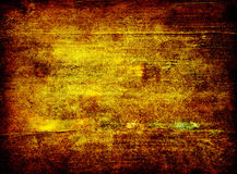 Grungy gold background Stock Images