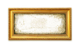 Grungy Gouden Frame Royalty-vrije Stock Fotografie