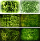 Grungy grüne Hintergründe Lizenzfreies Stockbild